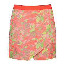 Buy Ted Baker Keleche Floral Jacquard Wrap Skirt, Light Pink Online at johnlewis.com