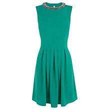 Buy Oasis Lila Embellished Crepe Dress Online at johnlewis.com