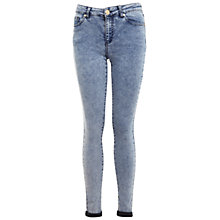 Buy Miss Selfridge Pretty Acid Ultra Soft Jeans, Bleached Denim Online at johnlewis.com