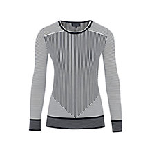 Buy Viyella Large Check Jumper, Navy Online at johnlewis.com