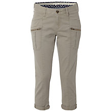 Buy White Stuff Blue Bay Slim Cropped Trousers, Almond Online at johnlewis.com
