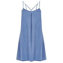 Buy Warehouse Denim Cami Dress, Light Wash Online at johnlewis.com