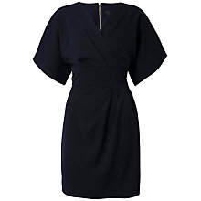 Buy Closet Cross Over Kimono Dress, Navy Online at johnlewis.com