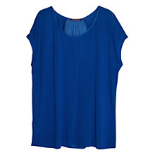 Buy Violeta by Mango Pleated T-Shirt Online at johnlewis.com