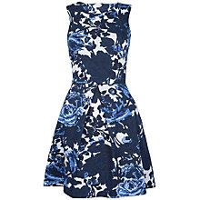 Buy Closet Floral Cut Out Back Dress, Multi Online at johnlewis.com