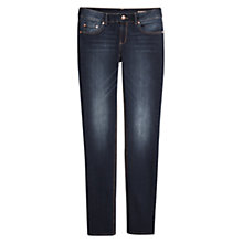 Buy Mango Slim-Fit Alice Jeans, Navy Online at johnlewis.com