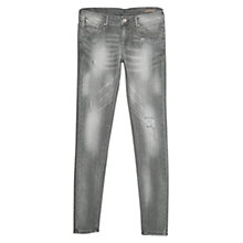 Buy Mango Push-Up Uptown Jeans, Dark Grey Online at johnlewis.com