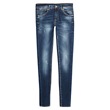 Buy Mango Push-Up Uptown Jeans, Navy Online at johnlewis.com