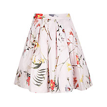 Buy Ted Baker Botanical Bloom Full Skirt, Pale Pink Online at johnlewis.com