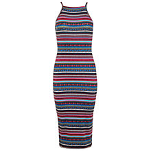 Buy Miss Selfridge Geo '90s Midi Dress, Assorted Online at johnlewis.com