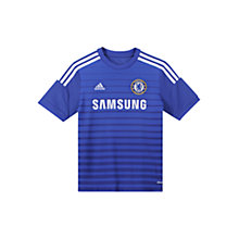 Buy Adidas Chelsea Boys' Home Shirt Online at johnlewis.com