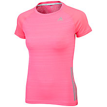 Buy Adidas Supernova Short Sleeve Running T-Shirt Online at johnlewis.com