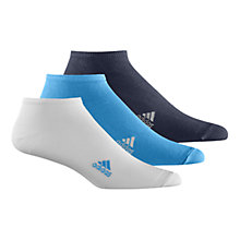 Buy Adidas Liner Socks, Pack of 3 Online at johnlewis.com