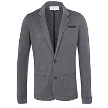 Buy Eleven Paris Sikk Jersey Blazer, Grey Chine Online at johnlewis.com