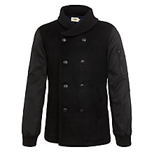 Buy Eleven Paris Kash Pea Coat, Black Online at johnlewis.com