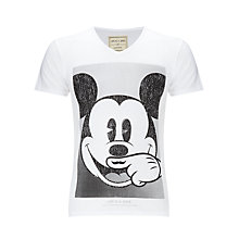 Buy Eleven Paris Retro Mickey Mouse Print T-Shirt Online at johnlewis.com