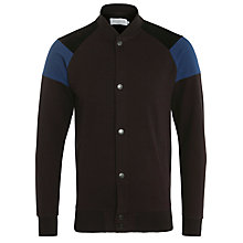 Buy Eleven Paris Bomber Style Cardigan, Brown Online at johnlewis.com
