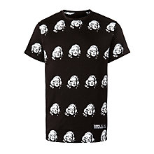 Buy Eleven Paris Monroe Crew Neck T-Shirt, Black Online at johnlewis.com