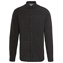 Buy Eleven Paris Kolek Long Sleeve Shirt, Black Online at johnlewis.com