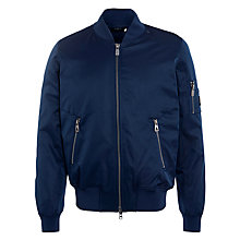 Buy Eleven Paris Suxy Bomber Jacket, Navy Online at johnlewis.com