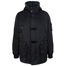 Buy Eleven Paris Kasual Parka Jacket, Black Online at johnlewis.com
