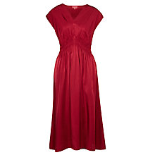Buy Ghost Astra Dress, Oxblood Online at johnlewis.com