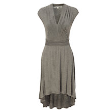 Buy Max Studio Pleat Detail Dress, Grey Online at johnlewis.com