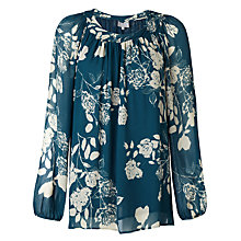 Buy Ghost Melanie Top,  Bella Rose Silhouette Online at johnlewis.com