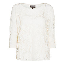 Buy Ghost Naomi Top, Cream Online at johnlewis.com