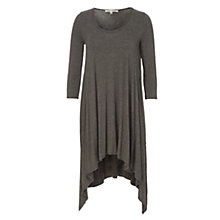 Buy Max Studio Asymmetric Hem Tunic, Heather Charcoal Online at johnlewis.com