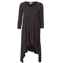 Buy Max Studio Asymmetric Hem Tunic Dress, Black Online at johnlewis.com