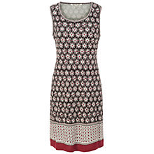 Buy Max Studio Sleeveless Printed Ponte Dress, Stacked Leaves Online at johnlewis.com