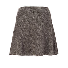 Buy Max Studio Marl Skirt, Grey Online at johnlewis.com