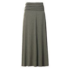 Buy Max Studio Jersey Maxi Skirt, Heather Charcoal Online at johnlewis.com