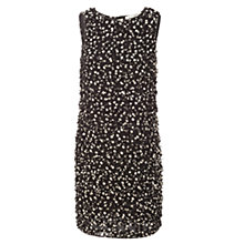 Buy Max Studio Sleeveless Cut Work Dress, Black/Beige Online at johnlewis.com