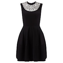 Buy Needle & Thread Embroidery Detail Dress, Black Online at johnlewis.com