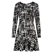 Buy Louche Auriel Dress, Black/White Online at johnlewis.com