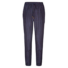 Buy Louche Gatsby Trousers, Navy Online at johnlewis.com