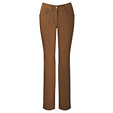 Buy Zaffiri Ilara Stretch Cognac Jeans 75cm Online at johnlewis.com