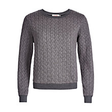 Buy Louche Jan Sweat, Grey Online at johnlewis.com
