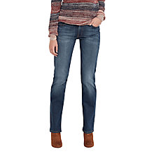 Buy Lee Marion Straight Leg Jeans, Velvet Blue Online at johnlewis.com