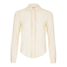 Buy Louche Havie Shirt, Cream Online at johnlewis.com