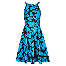 Buy Louche Louisa Flower Dress, Blue Online at johnlewis.com