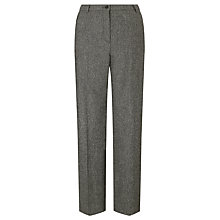 Buy Gardeur Karen Straight Trousers, Grey Online at johnlewis.com