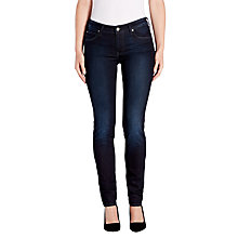 Buy Lee Scarlett Regular Waist Skinny Jeans, Velvet Blue Online at johnlewis.com
