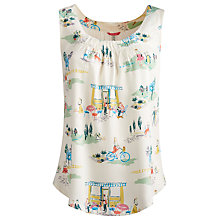 Buy Joules Iris Top, Cafe Scene Online at johnlewis.com