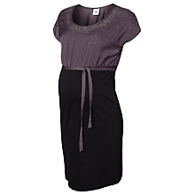 Buy Mamalicous Rain Dress, Grey/Black Online at johnlewis.com
