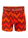 Bjorn Borg Boys' Pulse Trunks, Pack of 2, Red
