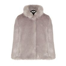 Buy Somerset by Alice Temperley Girls' Faux Fur Coat, Grey Online at johnlewis.com