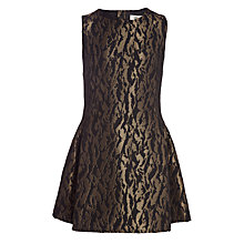 Buy Somerset by Alice Temperley Girls' Jacquard Dress, Black Online at johnlewis.com